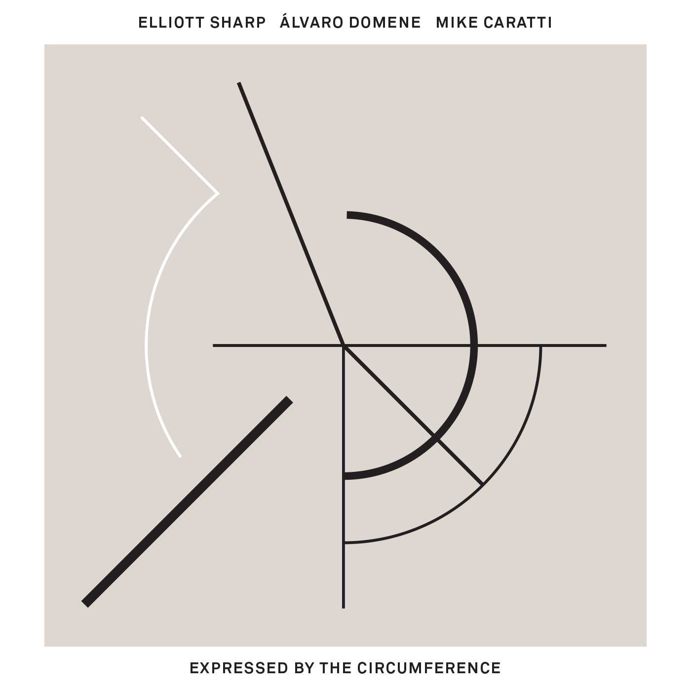 Expressed By The Circumference by Elliott Sharp / Álvaro Domene / Mike Caratti