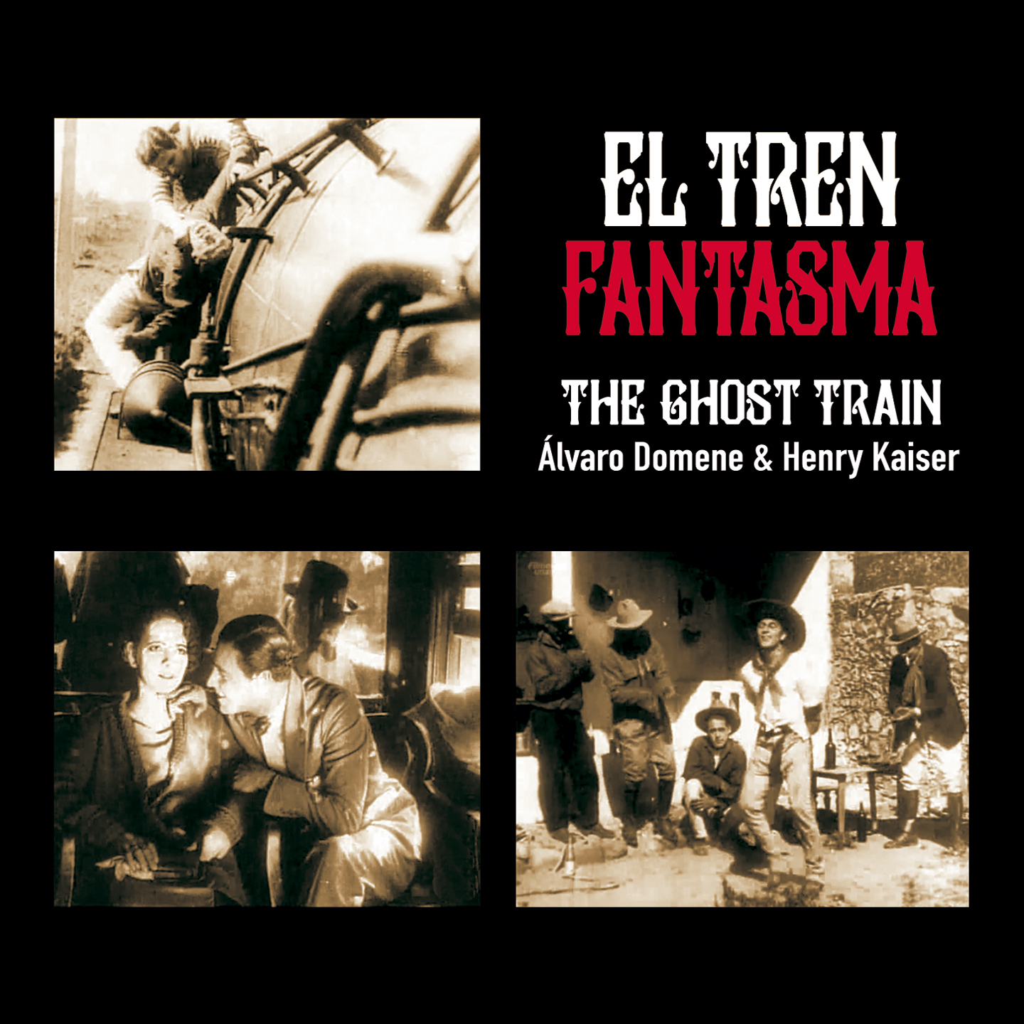 El Tren Fantasma / The Ghost Train by Álvaro Domene & Henry Kaiser
